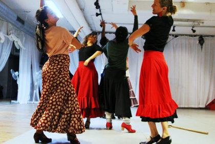 Flamenco fitness och teknik
